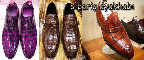 Çok Tercih Edilen Kroko Deri Erkek Ayakkabılar