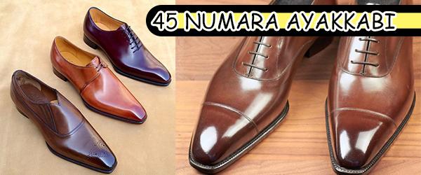 45 Numara Erkek Ayakkabısı Yapan Yerler