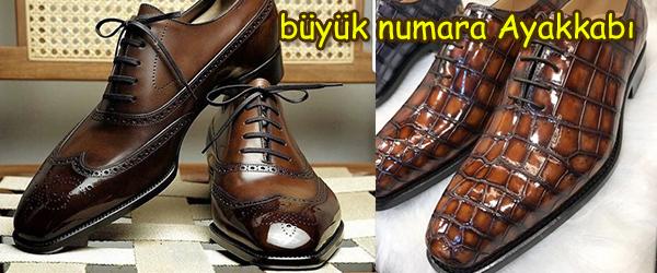 Büyük Numara Erkek Ayakkabı Siparişi