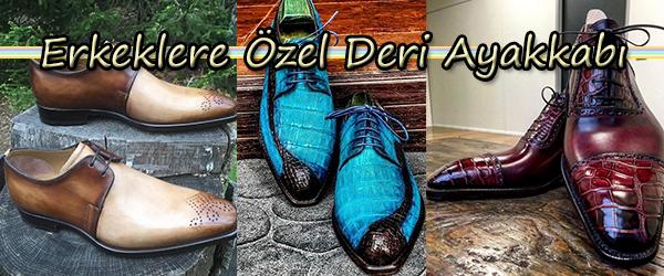 Erkeklere Özel Ayakkabı Siparişi