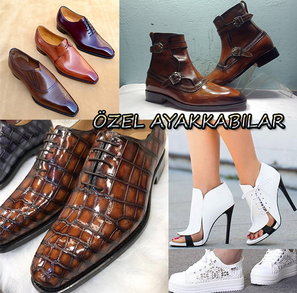 Özel Üretim Ayakkabı Modelleri