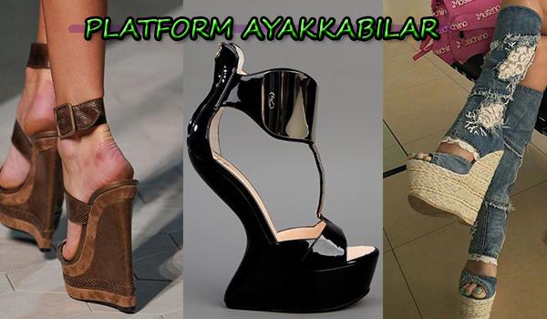 Yüksek Platformlu Ayakkabı Seçimi