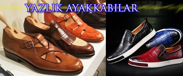 Yaz Aylarında Giyebileceğiniz Erkek Ayakkabı Modelleri