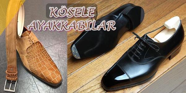 Erkeklere Özel Kösele Ayakkabı Modelleri