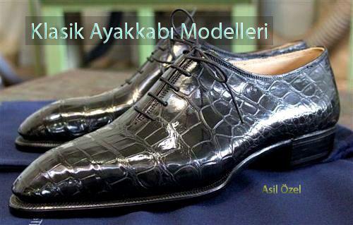 Özel Yapım Klasik Erkek Ayakkabı Modelleri