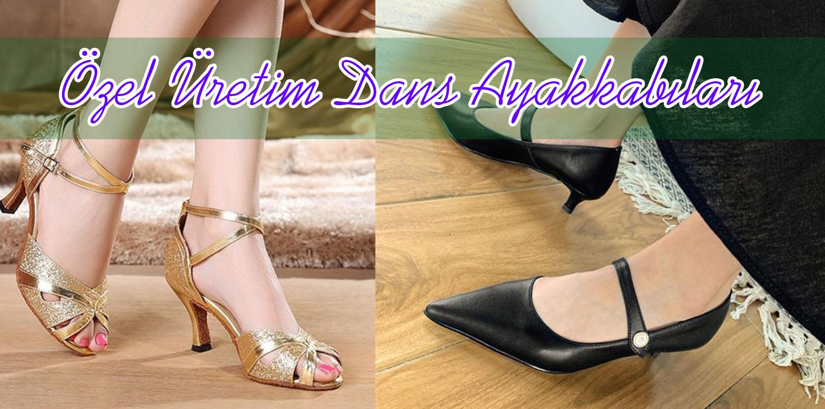Özel Üretim Dans Ayakkabı Siparişi