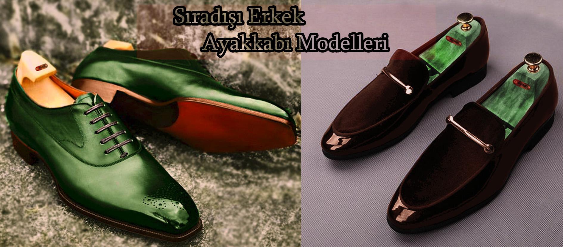 Sıradışı Erkek Ayakkabı Modelleri