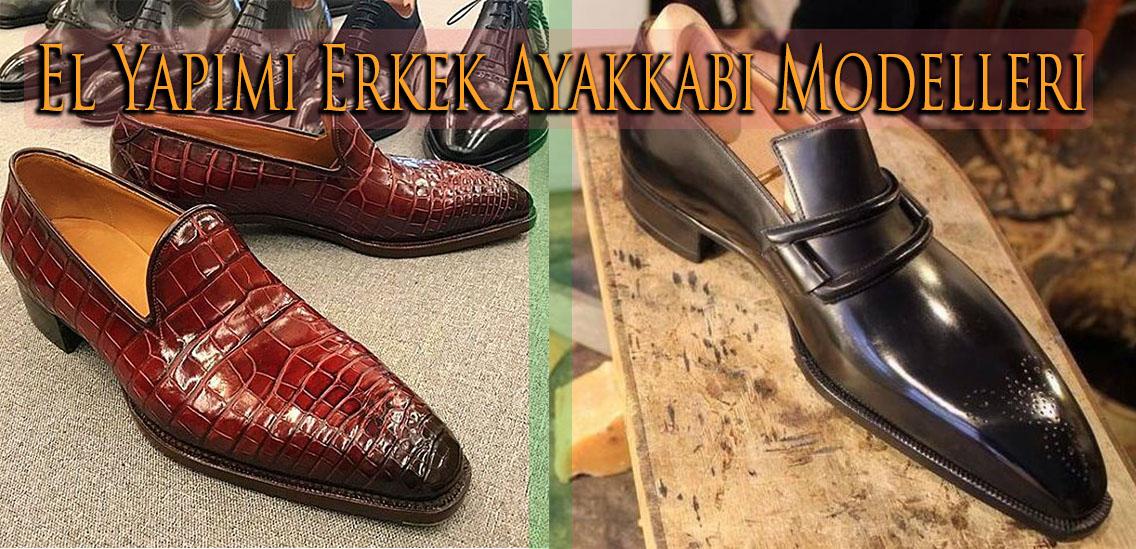 El Yapımı Erkek Ayakkabı Modelleri