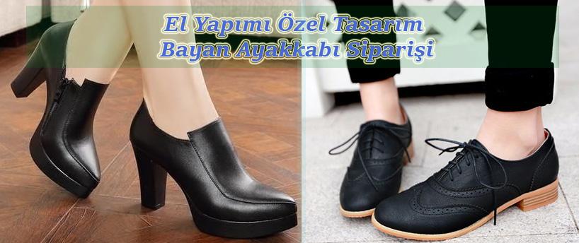El Yapımı Özel Tasarım Bayan Ayakkabı Siparişi