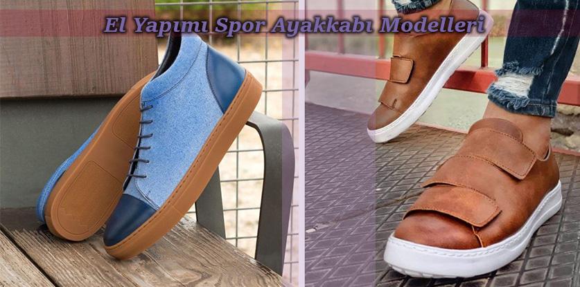 El Yapımı Spor Ayakkabı Modelleri