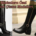 Bayanlara Özel Kışlık Çizme Modelleri