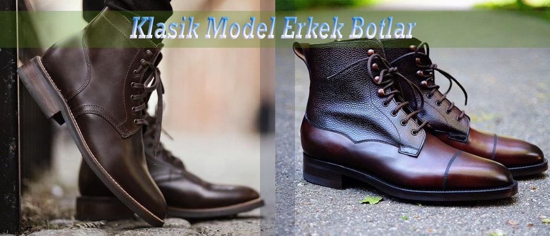 Klasik Model Erkek Botlar