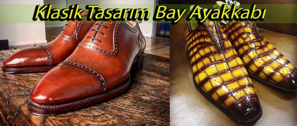 Klasik Tasarım Bay Ayakkabı
