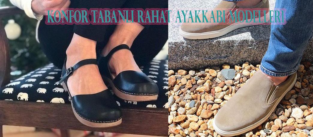Konfor Tabanlı Rahat Ayakkabı Modelleri