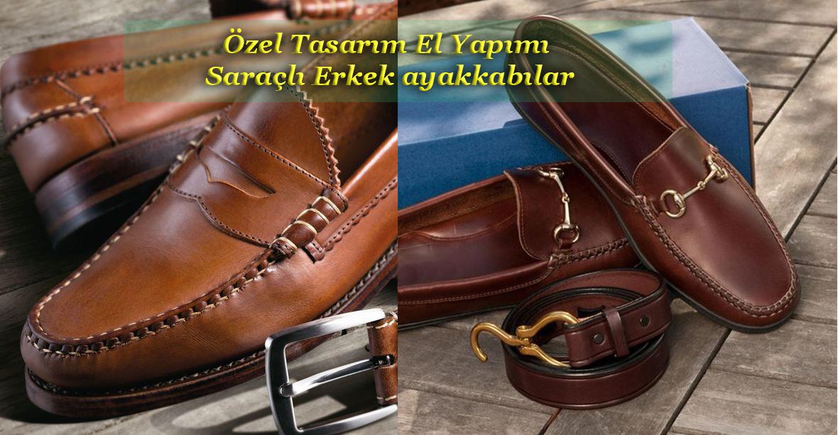 El Yapımı Saraçlı Erkek Ayakkabı Modelleri