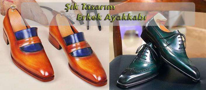 Şık Tasarım Erkek Ayakkabı