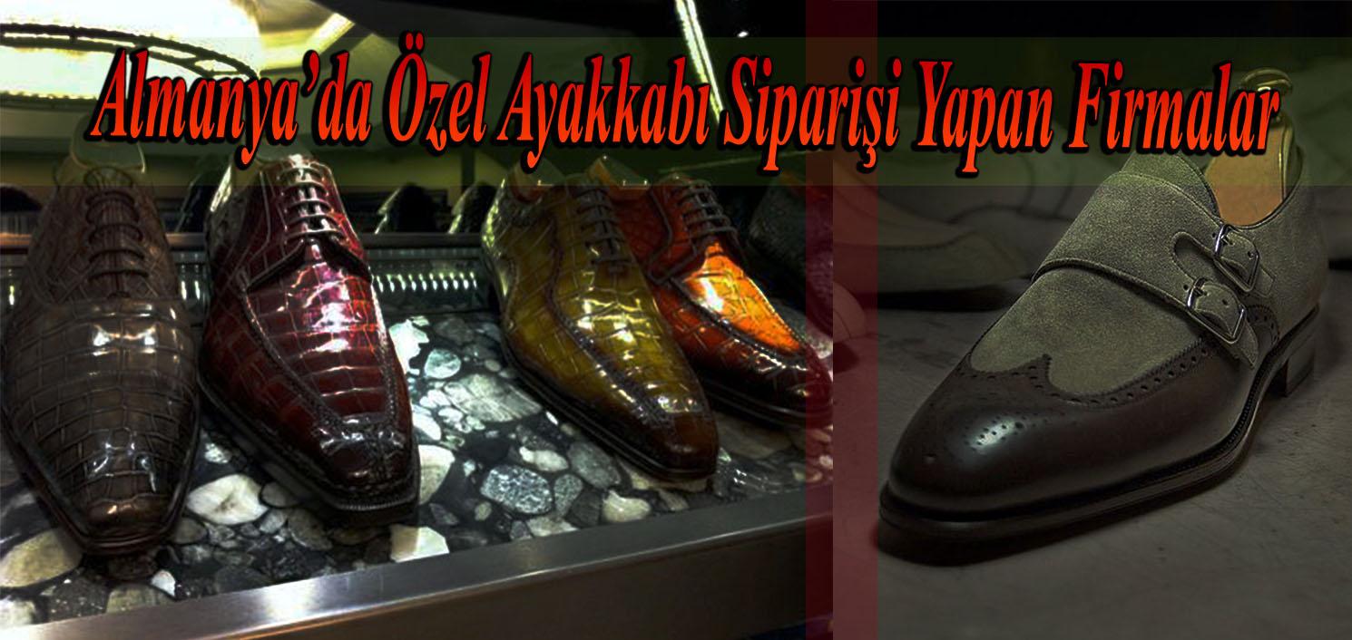 Almanya'da Özel Ayakkabı Siparişi Yapan Firmalar