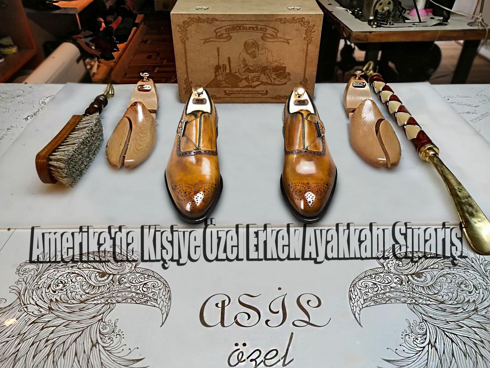 Amerika'da Kişiye Özel Erkek Ayakkabı Siparişi