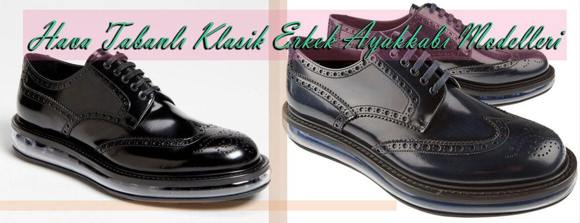 Hava Tabanlı Klasik Erkek Ayakkabı Modelleri