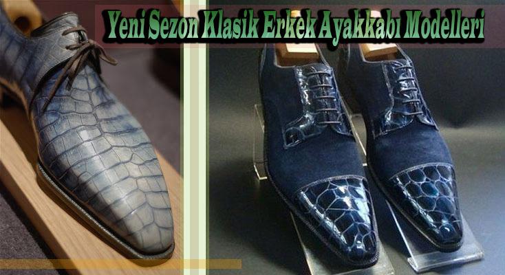 Yeni Sezon Klasik Erkek Ayakkabı Modelleri