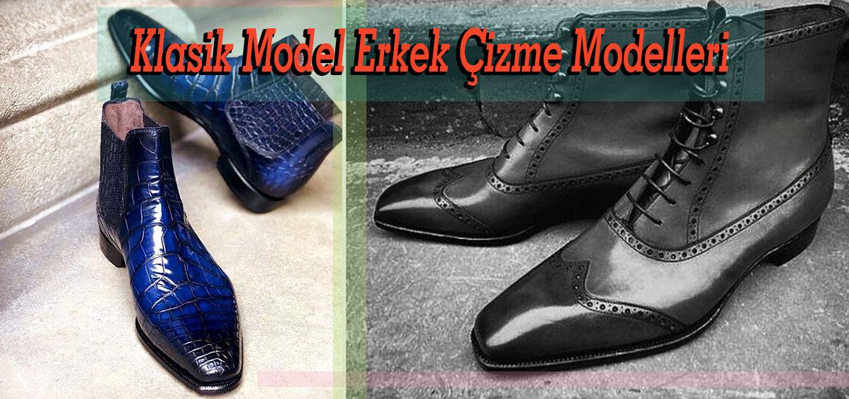 Klasik Model Erkek Çizme Modelleri