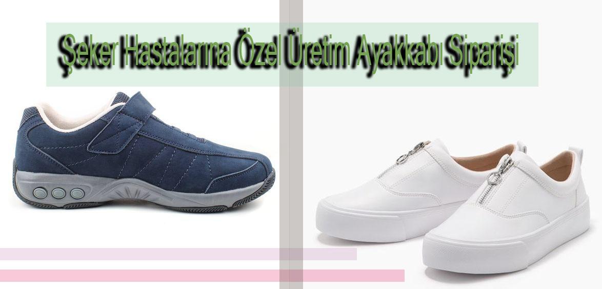 Şeker Hastalarına Özel Üretim Ayakkabı Siparişi
