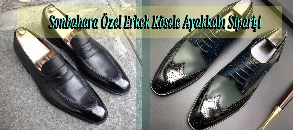 Sonbahara Özel Erkek Kösele Ayakkabı Siparişi