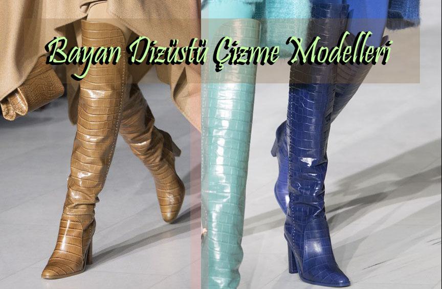 Bayan Dizüstü Çizme Modelleri