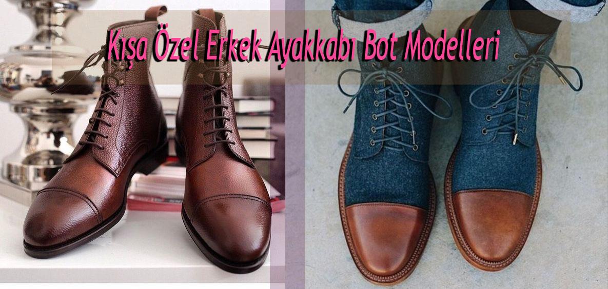 Kışa Özel Erkek Ayakkabı Bot Modelleri