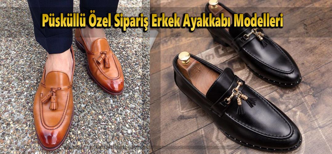 Püsküllü Özel Sipariş Erkek Ayakkabı Modelleri