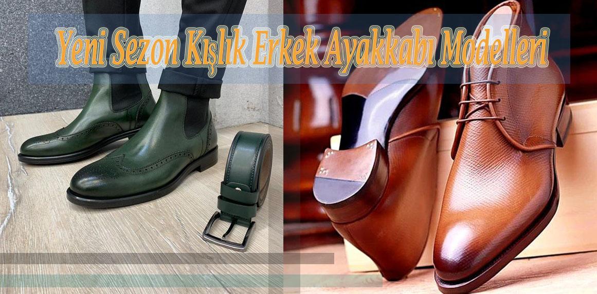 Yeni Sezon Kışlık Erkek Ayakkabı Modelleri