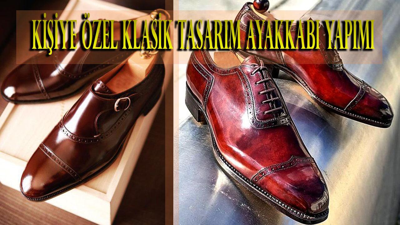 Kişiye Özel Klasik Tasarım Ayakkabı Yapımı