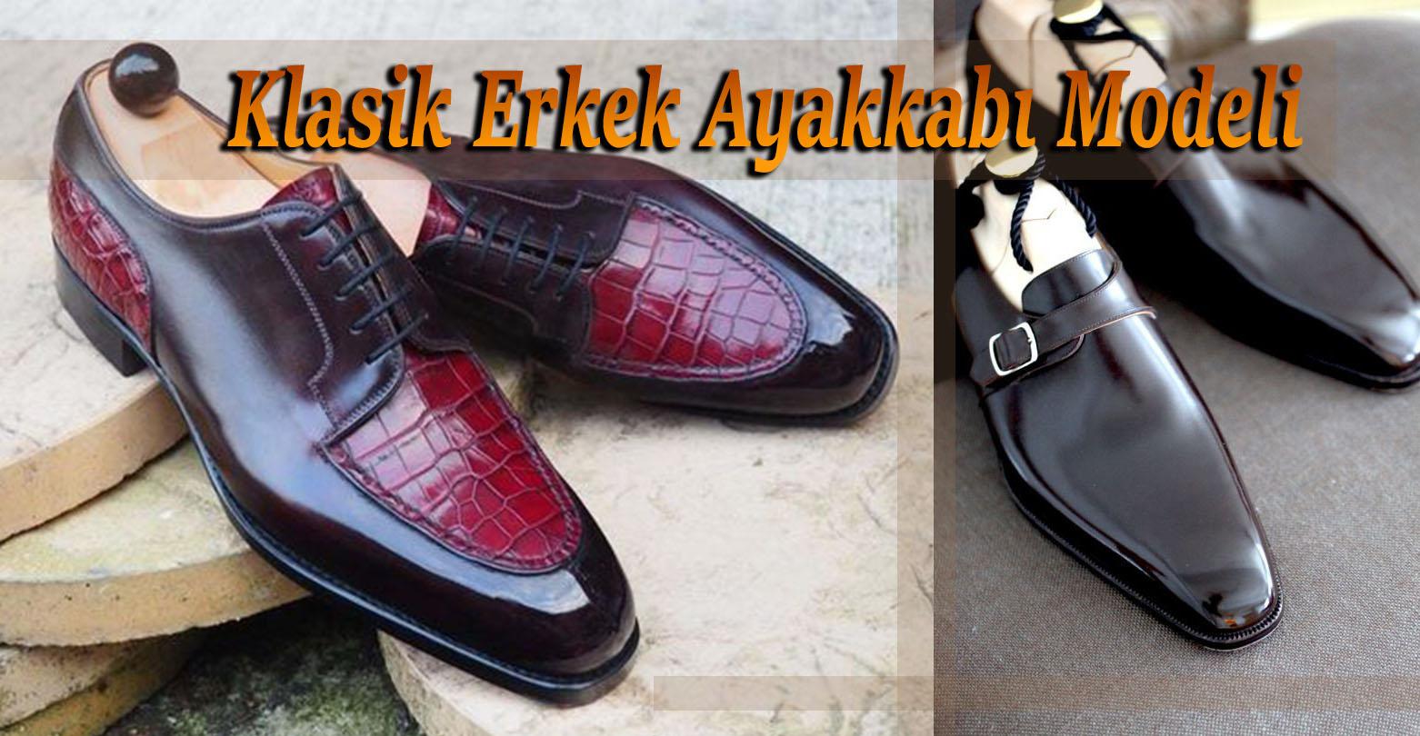 Klasik Erkek Ayakkabı Modeli