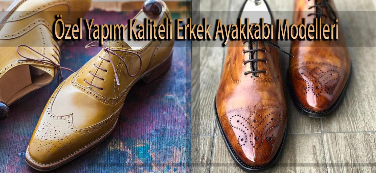Özel Yapım Kaliteli Erkek Ayakkabı Modelleri