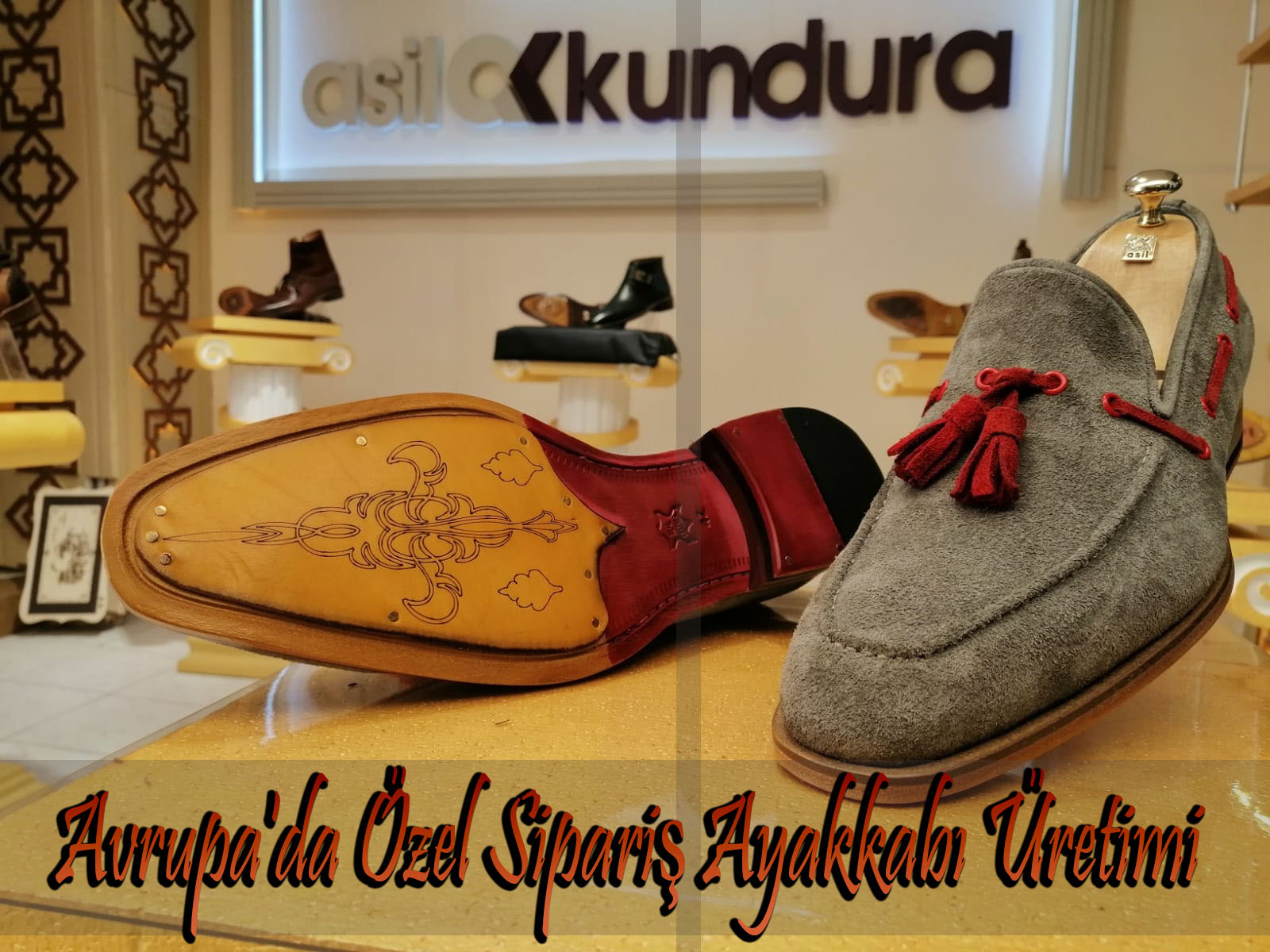 Avrupa'da Özel Sipariş Ayakkabı Üretimi