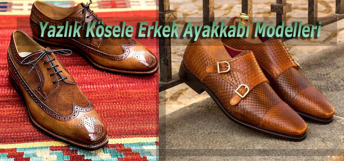 Yazlık Kösele Erkek Ayakkabı Modelleri