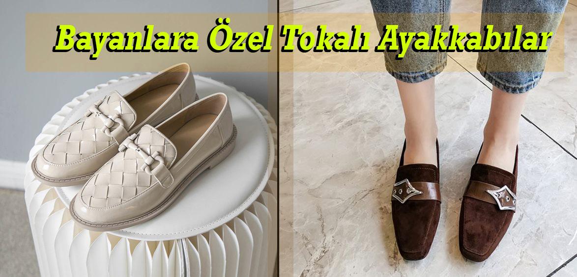Bayanlara Özel Tokalı Ayakkabılar