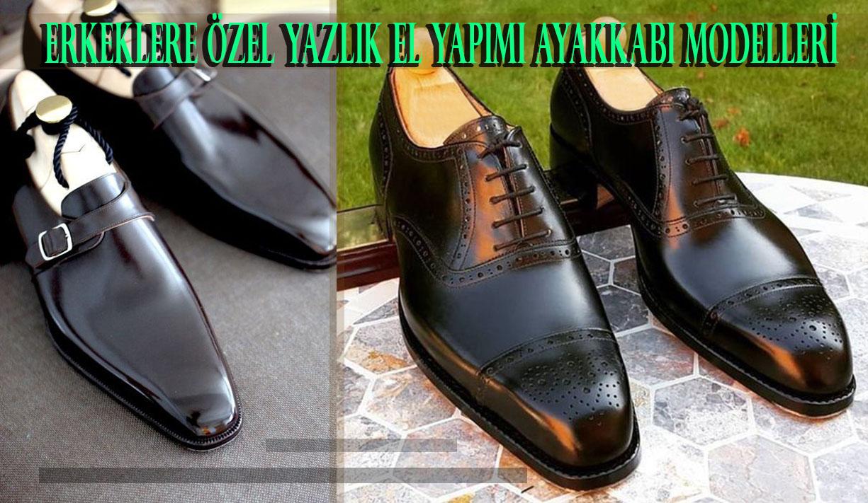 Erkeklere Özel Yazlık El Yapımı Ayakkabı Modelleri