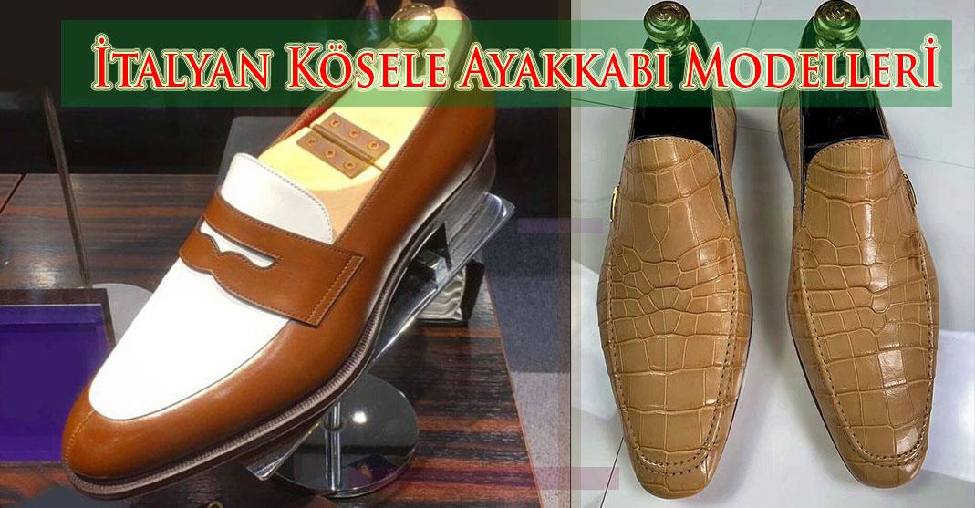 İtalyan Kösele Ayakkabı Modelleri