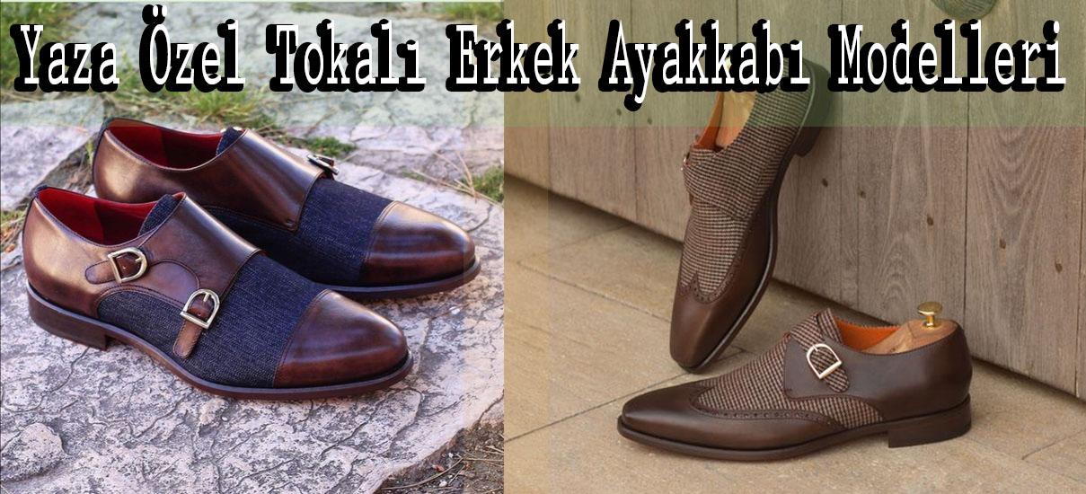 Yaza Özel Tokalı Erkek Ayakkabı Modelleri