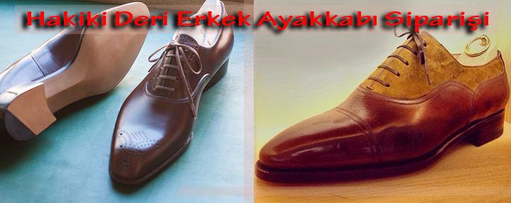 Hakiki Deri Erkek Ayakkabı Siparişi