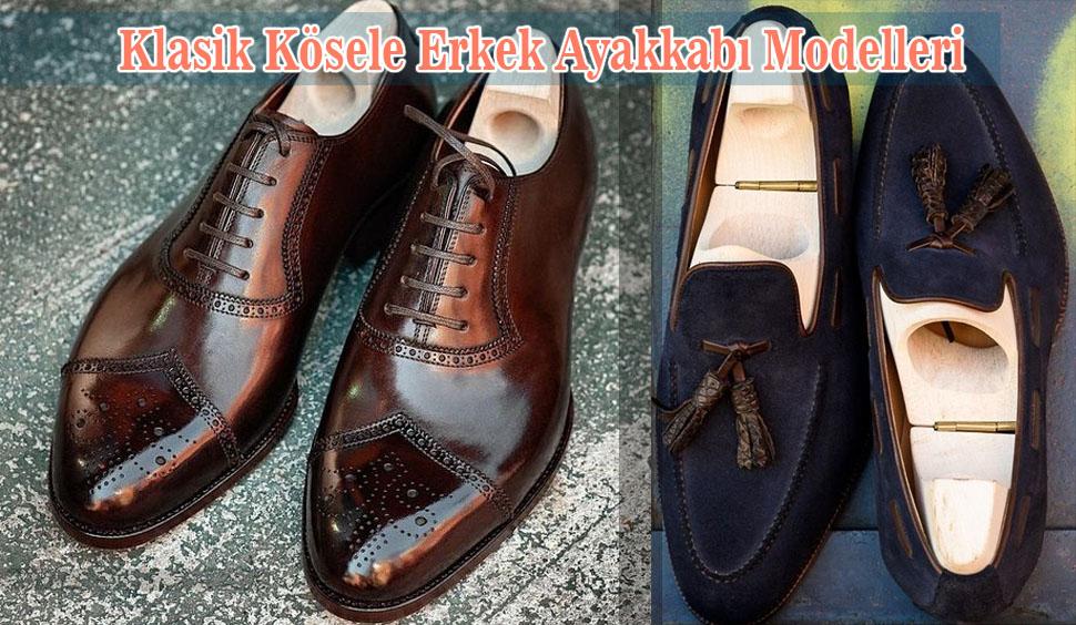 Klasik Kösele Erkek Ayakkabı Modelleri