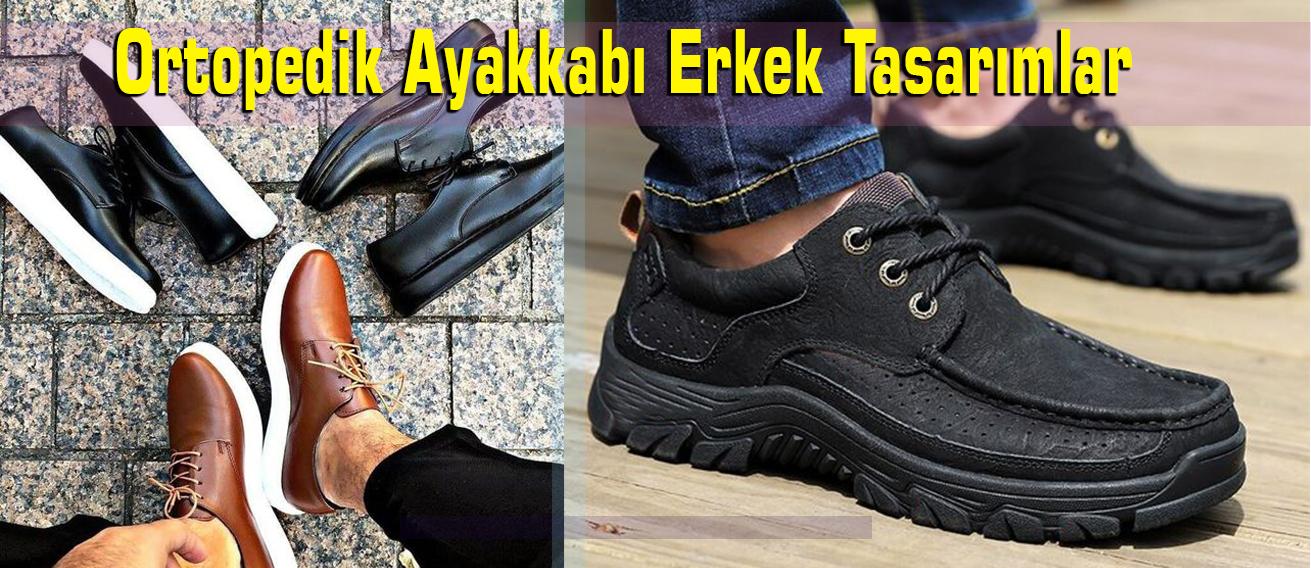 Ortopedik Ayakkabı Erkek Tasarımlar