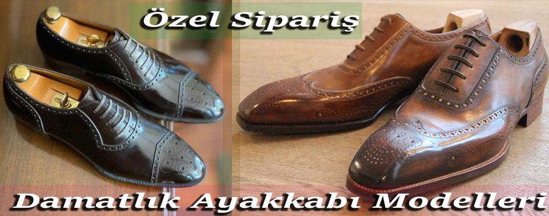 Özel Sipariş Damatlık Ayakkabı Modelleri