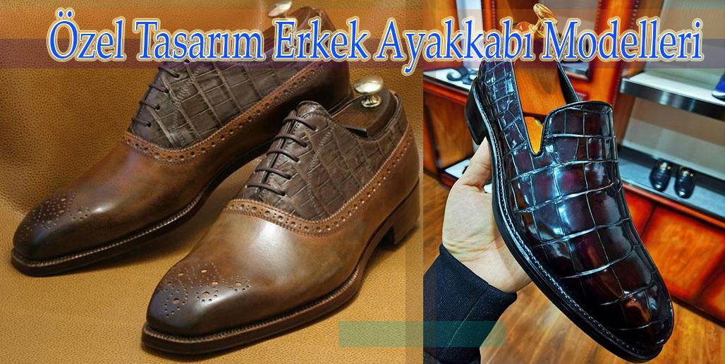 Özel Tasarım Erkek Ayakkabı Modelleri