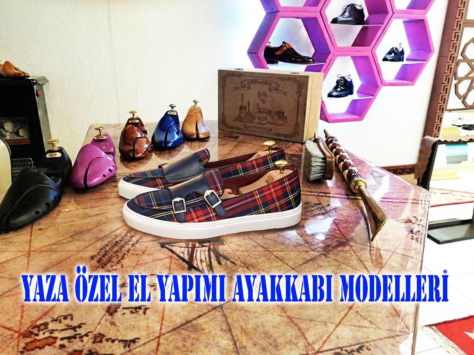 Yaza Özel El Yapımı Ayakkabı Modelleri
