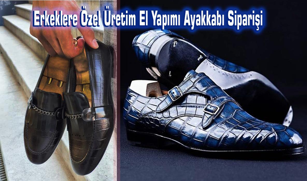 Erkeklere Özel Üretim El Yapımı Ayakkabı Siparişi