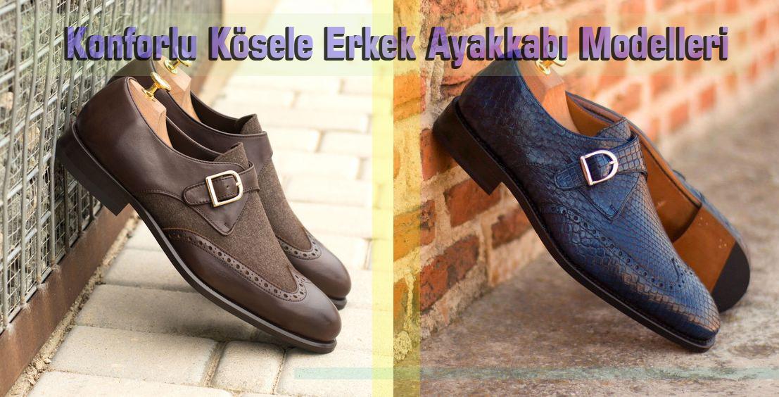 Konforlu Kösele Erkek Ayakkabı Modelleri